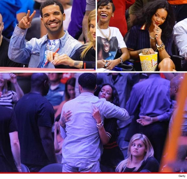 Is there A Positive Relationship Going on Between Drake & Rihanna?