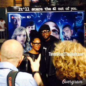 A Haunted House 2, Omar Epps, Keisha Epps, movie premiere