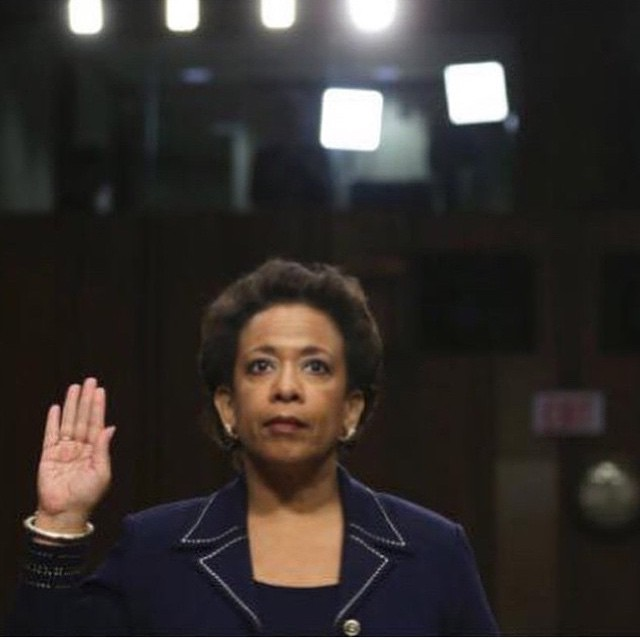 Loretta Lynch-First Female US Attorney General