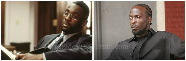 The Wire, HBO Original Series, Idris Elba, Michael K. Williams