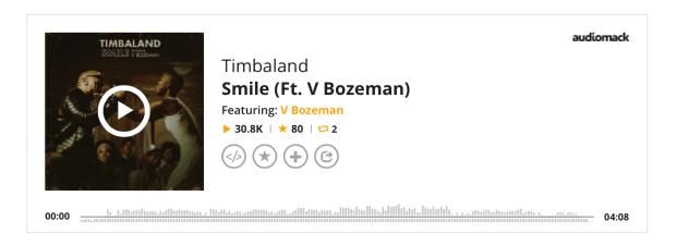 New Music-V Bozeman-Timbaland